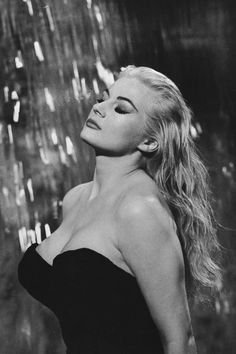 Remembering 'La Dolce Vita' actress Anita Ekberg, who passed away this weekend.