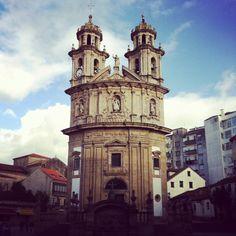 La Peregrina Church - Pontevedra
