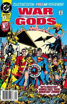 The Gods are at war! When Zeus and his family go to war with other deities from across the heavens (and beyond), the heroes of the DC Universe are stuck in the middle. Teaming with Superman, Captain M