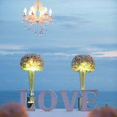 I Love Someone, Most Romantic Places, Flower Arrangements, Wedding Planner, Ceiling Lights, Rustic, Flowers, Phuket Wedding, Weddings