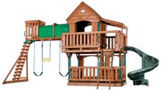 Play structure for the kids!