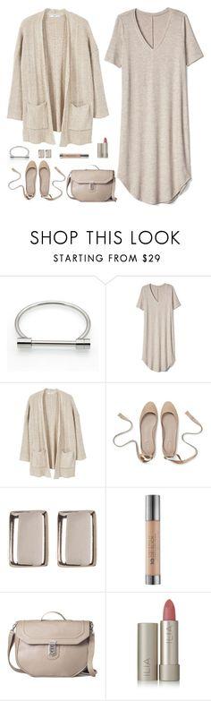 """""""Neutrals"""" by musicfriend1 ❤ liked on Polyvore featuring Gap, MANGO, Argento Vivo, Urban Decay and Ilia"""