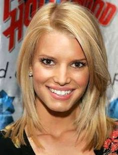 celebrity hair styles: Jessica Simpson hair styles