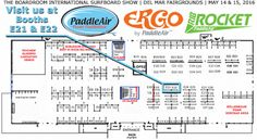 Visit PaddleAir at The Boardroom International Surf Show at booths E21 and E22 and checkout the latest Ergo and the new Rib Rocket -- all so you can paddle stronger and surf longer and experience pure rib pleasure.