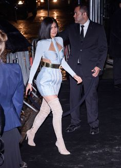 Kylie Jenner Shows Off Her Met Gala Battle Wounds Balmain Dress, Red Carpet Dresses, Kylie Jenner, Fitness Inspiration, Kendall, Battle, My Style, Celebrities, How To Wear