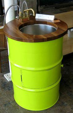 Supraciclagem de tambores de aço
