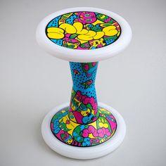 SH2 Kawaii | Sporthocker | SALZIG #salzig #sporthocker #cool #stool #kawaii #design #sport