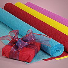 Best place to buy crepe paper and other wrapping supplies.