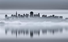 Photograph Foggy Reflection by Toby Harriman on 500px