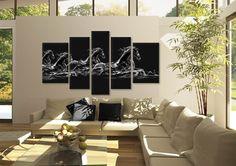 Tablouri Horses 1712 Dimensiuni: 2x 45x70 - 2x 35x90 - 1x 30x110 cm Total ocupat: 190x110 cm