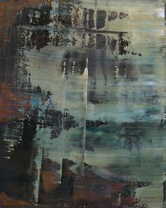 """Koen Lybaert; Oil 2014 Painting """"abstract N° 813"""""""