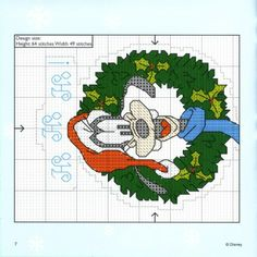 Gallery.ru / Photo # 46 - Cross Stitch Crazy 040 Christmas 2002 + application mickey & a - tymannost