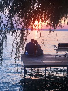 b8b90033e4 Romantic moment couple sunset photo Balaton Wedding Couple Photos, Wedding  Couples, Romantic Moments,