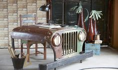 Jeep Desk by Canett Furniture