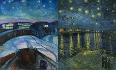 An Exhibit that Parallels the Lives of Vincent van Gogh and Edvard Munch