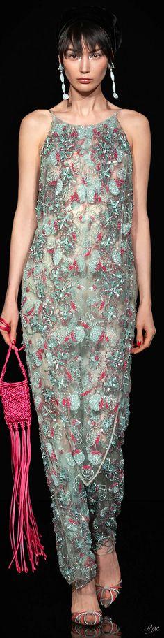 Giorgio Armani, Emporio Armani, Formal Wear, Formal Dresses, Armani Prive, Floral Fashion, Catwalk, Beautiful Dresses, Cool Style