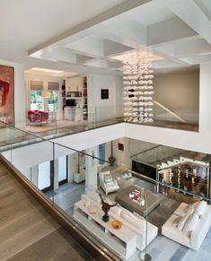 Modern Home Design 94667 Exquisite modern coastal home in Florida with luminous interiors Dream Home Design, Modern House Design, Home Interior Design, Interior Architecture, Modern House Facades, Interior Modern, Architecture Plan, Coastal Living Rooms, Coastal Homes