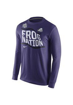 TCU Nike Mens Purple Peach Bowl Bound Long Sleeve Tee http://www.rallyhouse.com/shop/tcu-horned-frogs-nike-12514745?utm_source=pinterest&utm_medium=social&utm_campaign=Pinterest-TCUHornedFrogs $32.00
