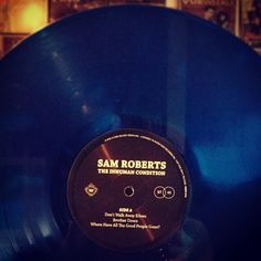 Love this album! Sam Roberts' 'The Inhuman Condition' on vinyl for the first time ever from Paper Bag Records.