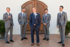 groom and groomsmen wear different color shoes - Google Search