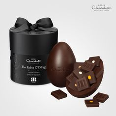 Rabot 1745 Extra Thick Easter Egg - Our Easter homage to exceptional single-estate #chocolate: a beautifully presented #Easter egg with extra-thick eggshells, filled with rare and vintage chocolates.