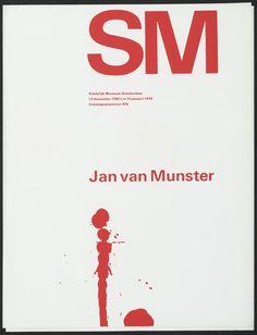 Wim Crouwel – Jan van Munster, 1969