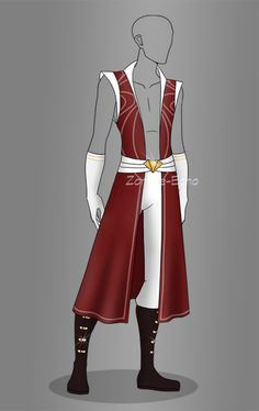 Clothing: adopt: 17 (closed) auction by zombie-echo Dress Drawing, Drawing Clothes, Anime Outfits, Boy Outfits, Super Hero Outfits, Modelos Fashion, Poses References, Fashion Art, Fashion Design