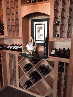 Wine Cellar Tampa Florida, Wine Cellar, Wine Rack, Liquor Cabinet, Storage, Furniture, Home Decor, Purse Storage, Homemade Home Decor