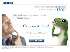 Geico Quote Fascinating Geico Insurance  Advertisement  Pinterest