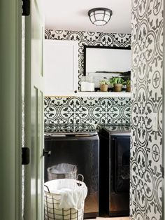 Laundry + Powder Room Pictures From HGTV Urban Oasis 2016   HGTV Urban Oasis Sweepstakes   HGTV