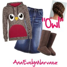 """""""Owl"""" by ana-evelyn-narvaez on Polyvore"""