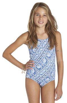 Billabong Starlight One-Piece Swimsuit (Little Girls & Big Girls)