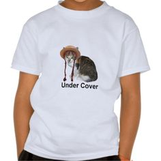 Under Cover T Shirts!  #kitten #cat #kid #child #shirt #zazzle #store http://www.zazzle.com/conquestkitty*  Looks like kids shirts are the most popular thing in my Conquest Kitty store.  Kind of saw that one coming.  On a side note; No one has looked at my kitten dart boards, restoring my faith in humanity.
