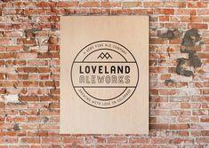 Loveland Ale Works Poster
