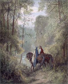 mad-moiselle-bulle: Gustave Dore, Lancelot & Guinevere.: