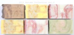 手作り石鹸の通販ネットショップ artist made soap PASTEL CARRE 無添加手作り石鹸の販売