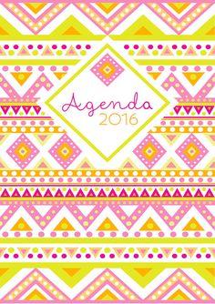 Organiza el nuevo año con esta preciosísima agenda que contiene los siguientes archivos:  // Portada  // Sep15 - Dic15 Compuesto por: - Calendario