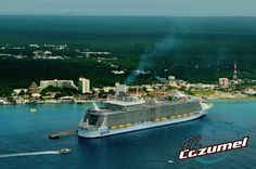 Royal Caribbean in Cozumel.... Fly with us to Chichen Itza in 45 minutes only straight from Cozumel. https://flycozumel.com/cozumel-cruise-ships/royal-caribbean-shore-excursions/