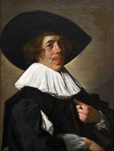 Frans Hals (c. 1583-1666), Portrait of an unknown Man, 1630-33, oil on canvas, 75 x 58 cm. Bildnis eines Mannes Portret van een man Gemäldegalerie, Berlin