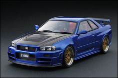 To collect or to make a gift, buy your Nissan Skyline Ignition Model Nismo GT-R Z-tune Bayside Blue diecast. Nissan Skyline, R32 Skyline, Gt R, Toyota Supra Rz, Ignition Model, R34 Gtr, Home History, Nissan Z, Japanese Market