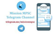 Mission MPSC Telegram Channel