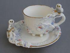 Olá amigos, Vejam que porcelanas magníficas, criadas pela artista russa He lena Zotova . Verdadeiras preciosidades!!!