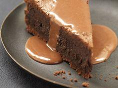 Fondant au chocolat, sauce caramel - La Table à Dessert