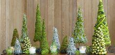 Zo maak je zelf groen kerstbos.