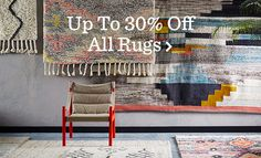 Up To 30 Percent Off All Rugs