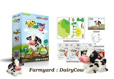 Create Your Own Toy Cow with our Step-by-step Farmyard Series - 6 to collect.