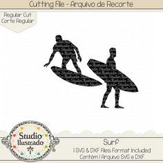 Surf, borad, surfer, surfista, onda, ondas, waves, Flip Flops, chinelos, calor, chinelo, monograma, verão, summer, praia, beach, warm, hot, season, arquivo de recorte, corte regular, regular cut, svg, dxf, png, Studio Ilustrado, Silhouette, cutting file, cutting, cricut, scan n cut.