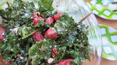 Gluten Free Kale & Watermelon Salad