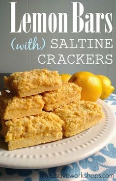 Lemon Bars with Salt