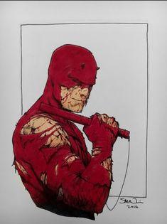 Daredevil by Steve McNiven Comic Art
